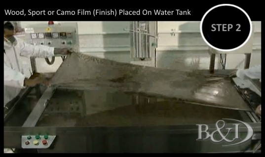 Hydrographics, Water Transfer Printing by B&I