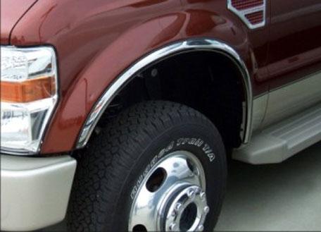 stainless steel fender trim