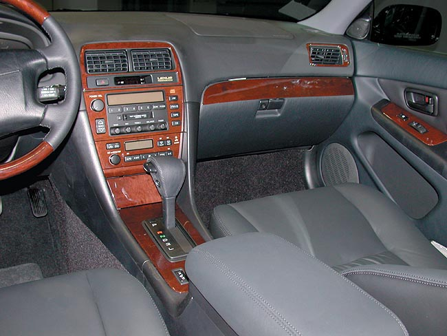 Lexus ES300 2000-2001 real wood trim by B & I Trim Product Manufacturers (TM)