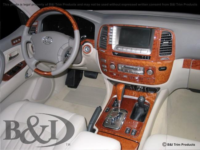 Wd384 Lexus Ls430 2001 2006 Wood Dash Kit By B Amp I Trim