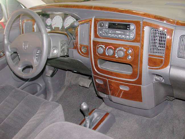 Dodge Ram 1500 Wood Dash Kit By B I