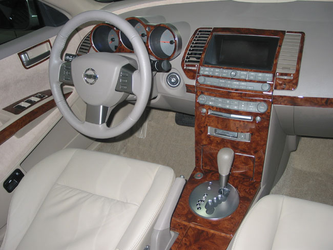 Nissan Maxima Wood Dash Kit By B I