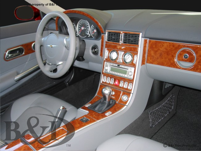 Dash kits for chrysler crossfire by bi chrysler crossfire wood dash kit by bi publicscrutiny Image collections
