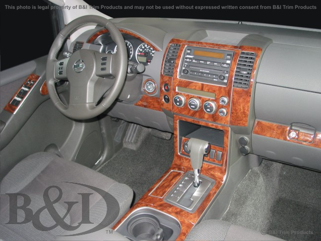 Wd578 Nissan Pathfinder 2005 Up Wood Dash Kit By B Amp I Trim