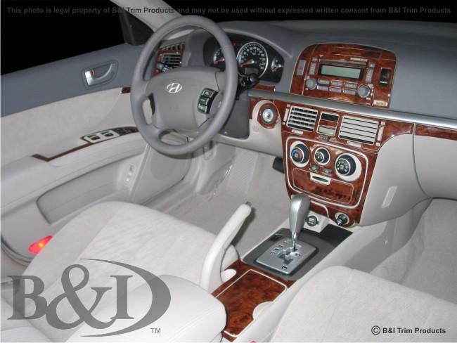 Hyundai Sonata Wood Dash Kit By B I