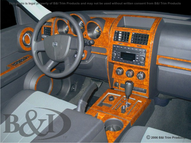 Wd690b Dodge Nitro 2007 Up Wood Dash Kit By B I Trim Product Manufacturers Tm