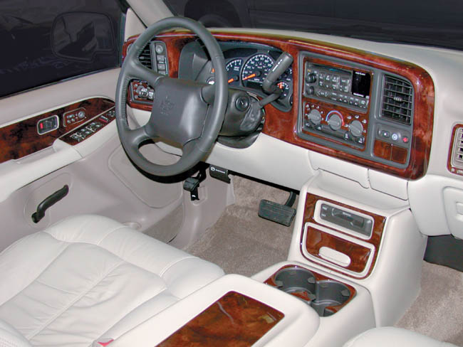 Chevrolet Suburban Tahoe Gmc Yukon Wood Dash Kit By B I