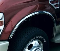 B&I fender trim, stainless steel fender trim, chrome fender trim