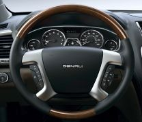 wood steering wheel, leather steering wheel, wood and leather steering wheel, wood and leather wrapped steering wheel